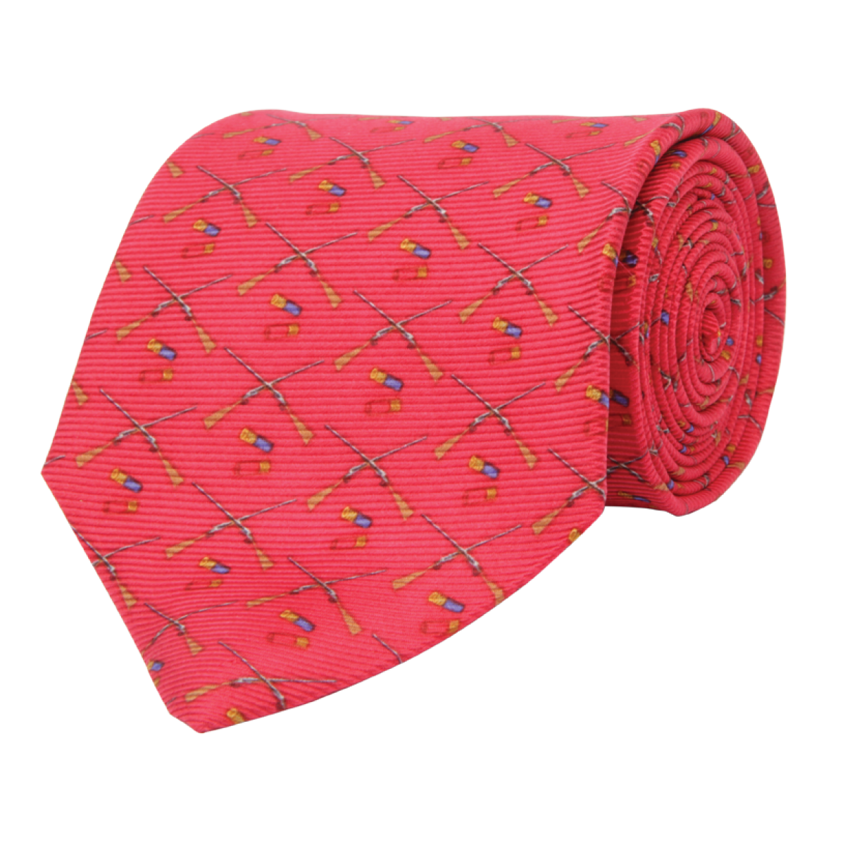 Wm. Lamb & Son - Shotgun Tie - Red
